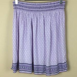Old Navy Smocked Waist A-Line Skirt
